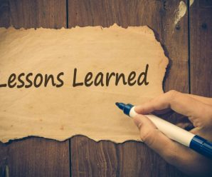 Valuable Lessons
